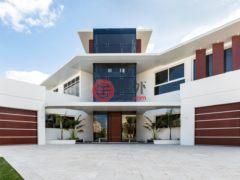 居外网在售阿联酋迪拜5卧6卫的房产总占地1393平方米
