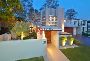 居外网在售澳大利亚5卧4卫特别设计建筑的房产总占地685平方米AUD 3,488,000