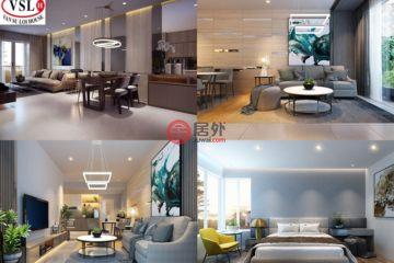 居外网在售越南2卧2卫的房产总占地271200平方米USD 100,000