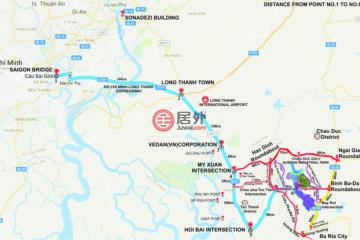 居外网在售越南Bà RịaUSD 8,000 / 月总占地22870000平方米的工业地产