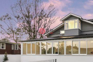 居外网在售新西兰6卧2卫特别设计建筑的房产总占地1123平方米NZD 9,800,000