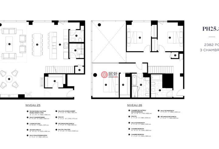 加拿大魁北克蒙特利尔的房产,1 Boul. de Maisonneuve West,编号43476838