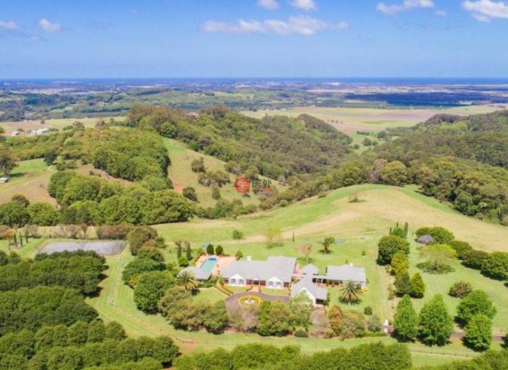 澳洲新南威尔士州tuckombil总占地323700平方米的乡郊
