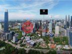 马来西亚Kuala Lumpur吉隆坡的房产,吉隆坡附阳台房子,毗邻地铁站,,编号53244021