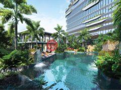 居外网在售越南胡志明市1卧1卫的房产总占地51平方米USD 204,000