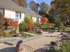 居外网在售瑞士扬村7卧15卫的房产总占地605平方米