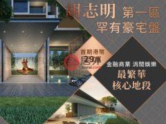 居外网在售越南胡志明市1卧1卫的房产总占地52平方米USD 436,800