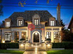 居外网在售加拿大5卧9卫的独栋别墅总占地1311平方米CAD 15,880,000