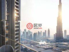 居外网在售阿联酋迪拜2卧2卫的房产总占地99平方米AED 2,401,888