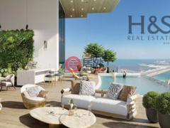 居外网在售阿联酋2卧2卫的公寓总占地126平方米AED 2,499,999