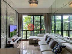 居外网在售新加坡1卧1卫的公寓总占地53平方米SGD 1,380,000