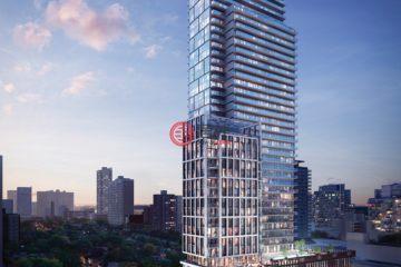 居外网在售加拿大1卧1卫新房的房产总占地77平方米CAD 1,244,000