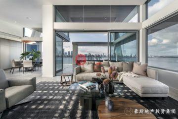 居外网在售澳大利亚3卧3卫特别设计建筑的房产总占地357平方米AUD 5,450,000