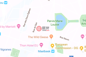 居外网在售比利时Brussels新开发的房产总占地18000平方米EUR 56,000,000