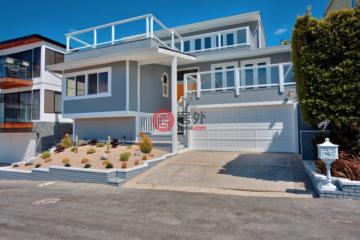 美国房产房价_加州房产房价_拉古纳海滩房产房价_居外网在售美国拉古纳海滩4卧3卫曾经整修过的房产总占地467平方米USD 3,350,000