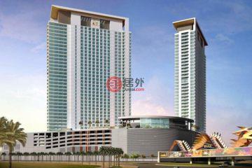 居外网在售阿联酋1卧2卫新房的房产总占地58平方米AED 450,000