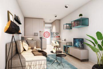 居外网在售德国1卧1卫新房的房产总占地21平方米EUR 218,218