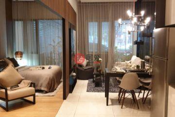 居外网在售马来西亚吉隆坡1卧2卫的房产总占地66平方米MYR 963,815