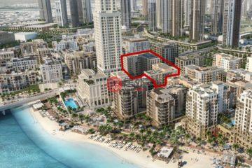 居外网在售阿联酋迪拜1卧2卫的房产总占地50平方米AED 890,000