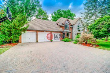 加拿大房产房价_安大略省房产房价_密西沙加房产房价_居外网在售加拿大密西沙加5卧5卫特别设计建筑的房产总占地1650平方米CAD 2,396,000