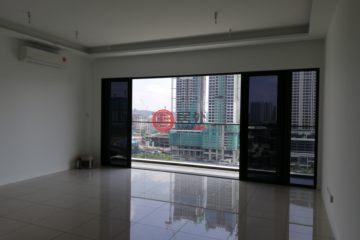 居外网在售马来西亚吉隆坡3卧2卫的房产总占地100平方米MYR 3,000 / 月