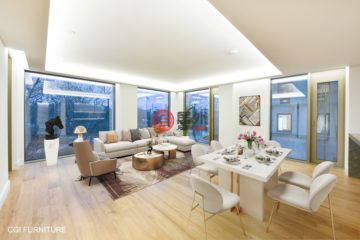 居外网在售英国伦敦3卧3卫的房产总占地153平方米GBP 3,200,000