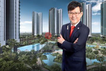 居外网在售新加坡1卧1卫新开发的公寓总占地45平方米SGD 865,000