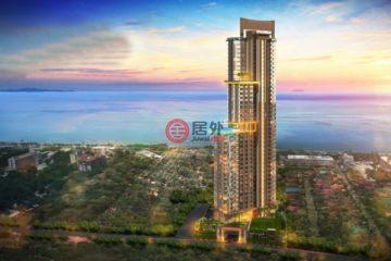 居外网在售泰国1卧1卫新开发的房产总占地43平方米THB 4,550,000