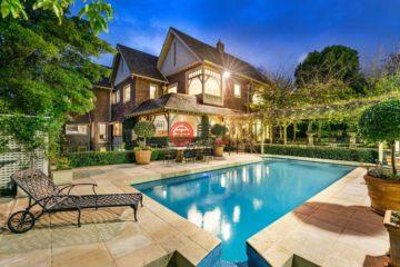 居外网在售澳大利亚Toorak6卧4卫的房产总占地2150平方米