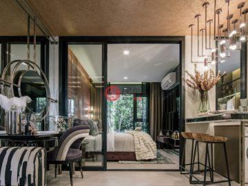居外网在售泰国1卧1卫的新建房产总占地35平方米THB 2,600,000起