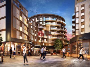 居外网在售英国1卧1卫新开发的新建房产GBP 695,000起