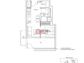 新加坡SingaporeSingapore的公寓,16,18, 18A,编号57427305
