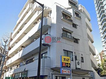 居外网在售日本Tokyo2卧1卫的房产总占地35平方米JPY 26,800,000