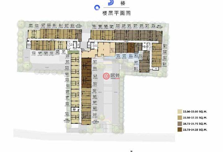 泰国Bangkok曼谷的房产,普夏素坤逸97,曼谷素坤逸核心区最低价准现房,距BTS素坤逸站500米,编号58475891