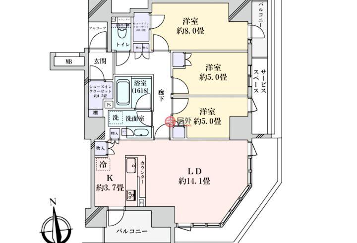 日本JapanOsaka的房产,编号56709219