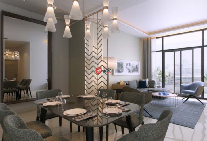 阿联酋迪拜迪拜的房产,阿联酋迪拜1卧1卫新房的房产,编号53455325