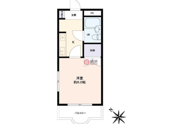日本JapanTokyo的房产,编号54577620