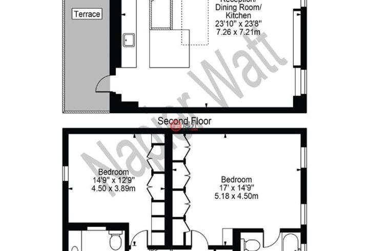英国英格兰伦敦的公寓,1 Down Street Mews,编号59399203