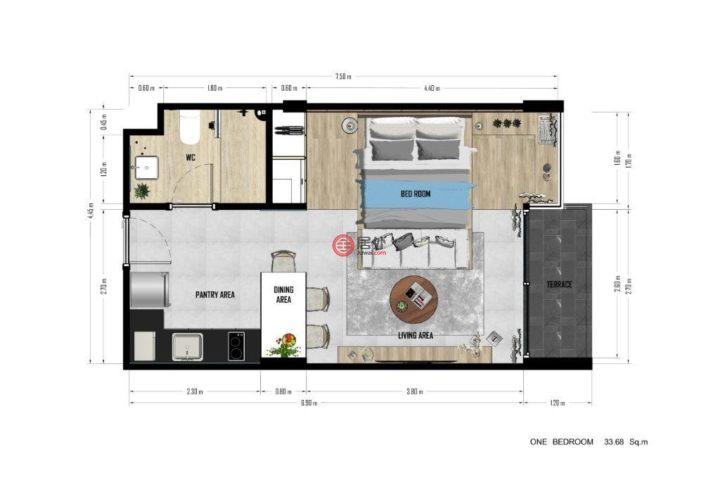 泰国普吉府普吉的房产,Karon,编号40938067