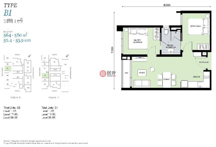 马来西亚Kuala Lumpur吉隆坡的房产,编号54015735