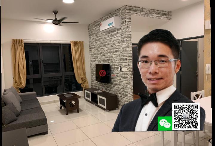 马来西亚吉隆坡2卧1卫曾经整修过的房产