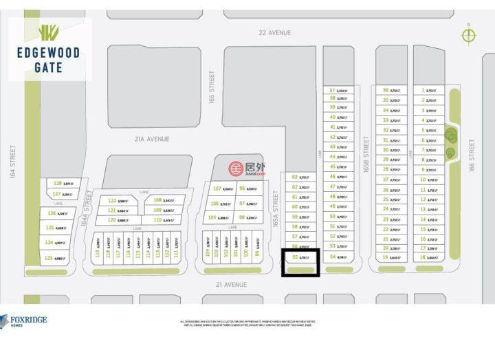 加拿大不列颠哥伦比亚省萨里的房产,2104  165A Street,编号45945988