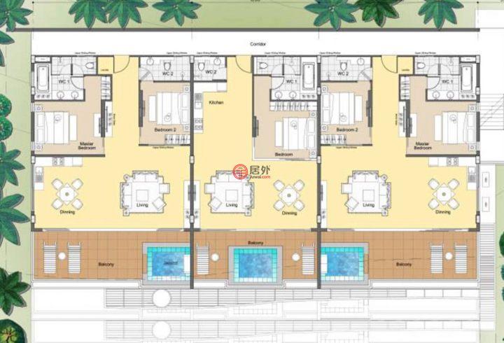 泰国普吉府普吉的房产,Kata,编号46723800