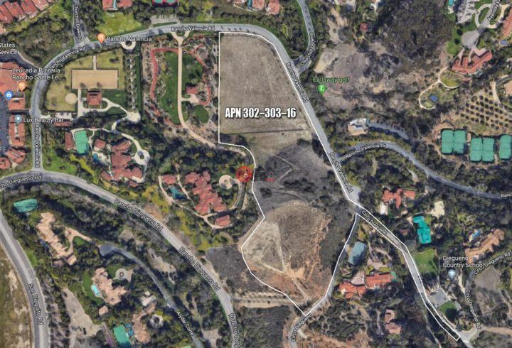 美国加州兰乔圣菲的土地,5872 Rancho Diegueno,编号47032771