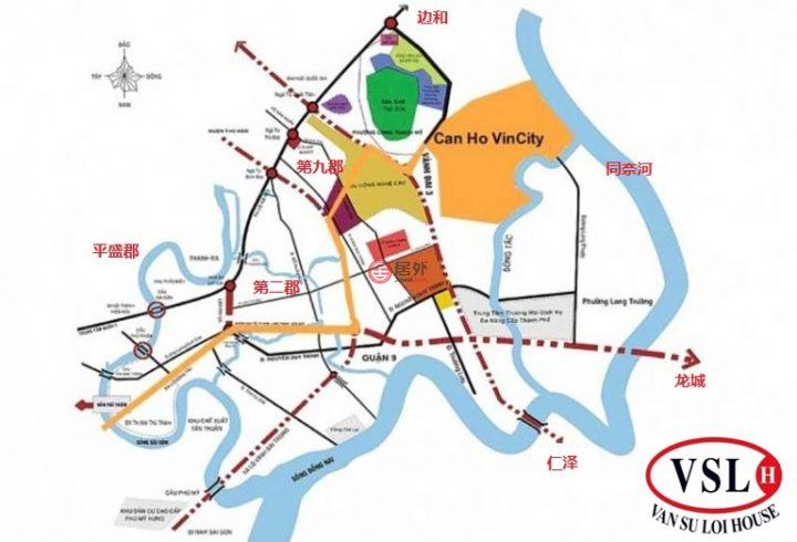 越南H? Chí Minh cityHo Chi Minh City的房產,Vincity-胡志明市、第九郡、龍盛美坊、Nguy?n Xi?n 路,編號42757678