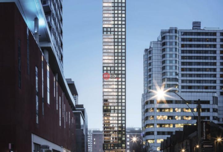 加拿大安大略省多伦多2卧2卫的房产