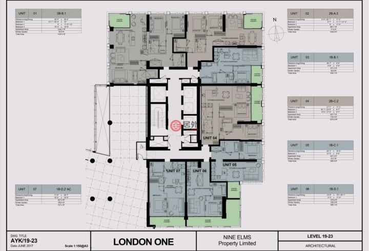 英国英格兰伦敦的房产,Parry Street,编号51801144