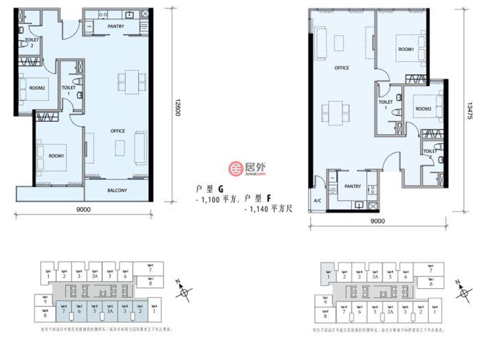 马来西亚Federal Territory of Kuala LumpurKuala Lumpur的房产,马来西亚吉隆坡,编号45769480