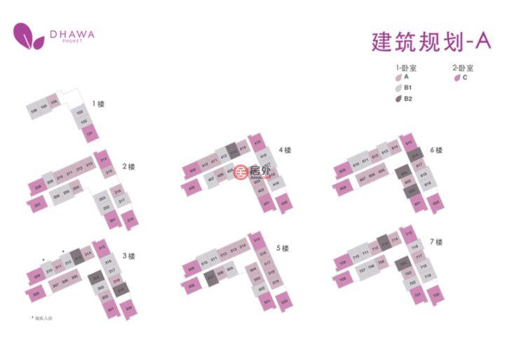 泰国普吉府普吉的房产,泰国普吉岛悦榕庄旗下品牌 悦苑Dhawa Phuket 全装全配临海公寓,保证5%年收益托管5年,编号54929457