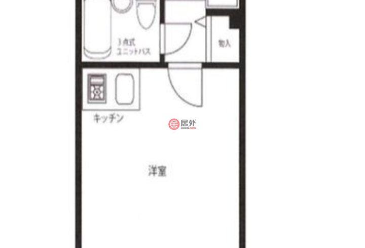 日本TokyoTokyo的房产,新宿区,编号46443097